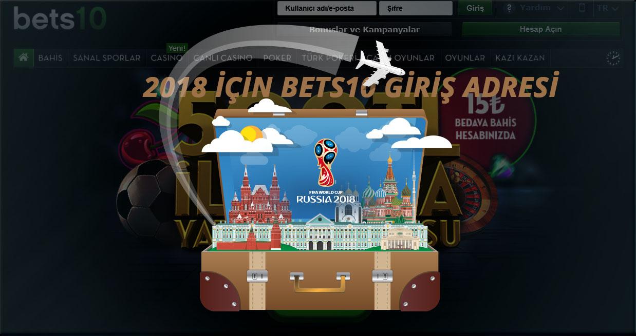 2018 için Bets10 Giriş Adresi